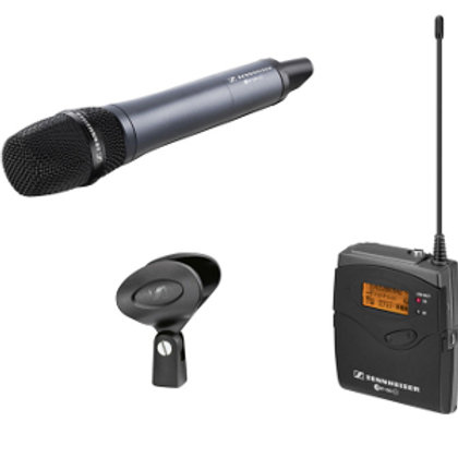 Mikrofon Sennheiser (z mikroportem) - 3 zestawy