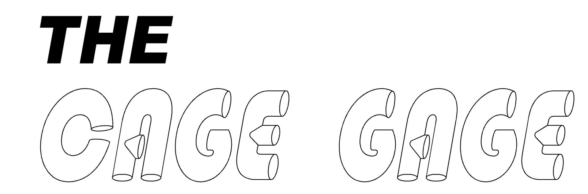 The Cage Gage logo