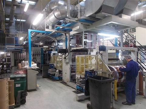 Flexo Printing Machine Uteco Coral 1400mm 6col