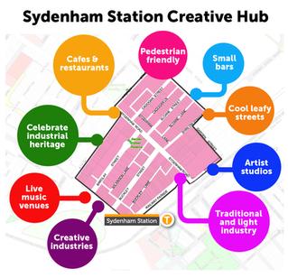 Growing creative industries in inner-city Sydney