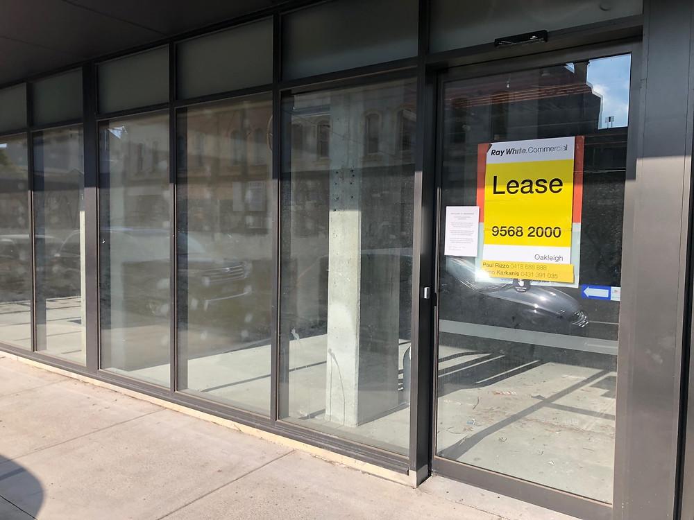 Image - Ground floor retail frontage in Brunswick