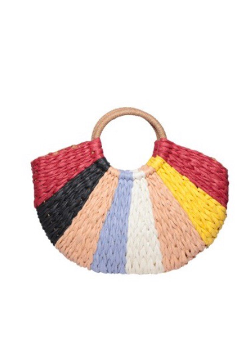 Multi- Color Beach Bag