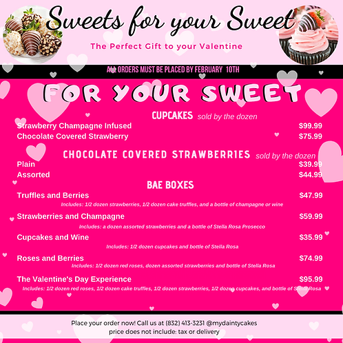 Sweets For Your Sweet