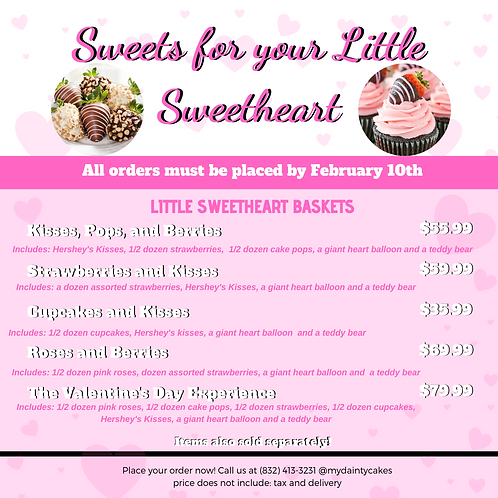 Sweets for your Little Sweet