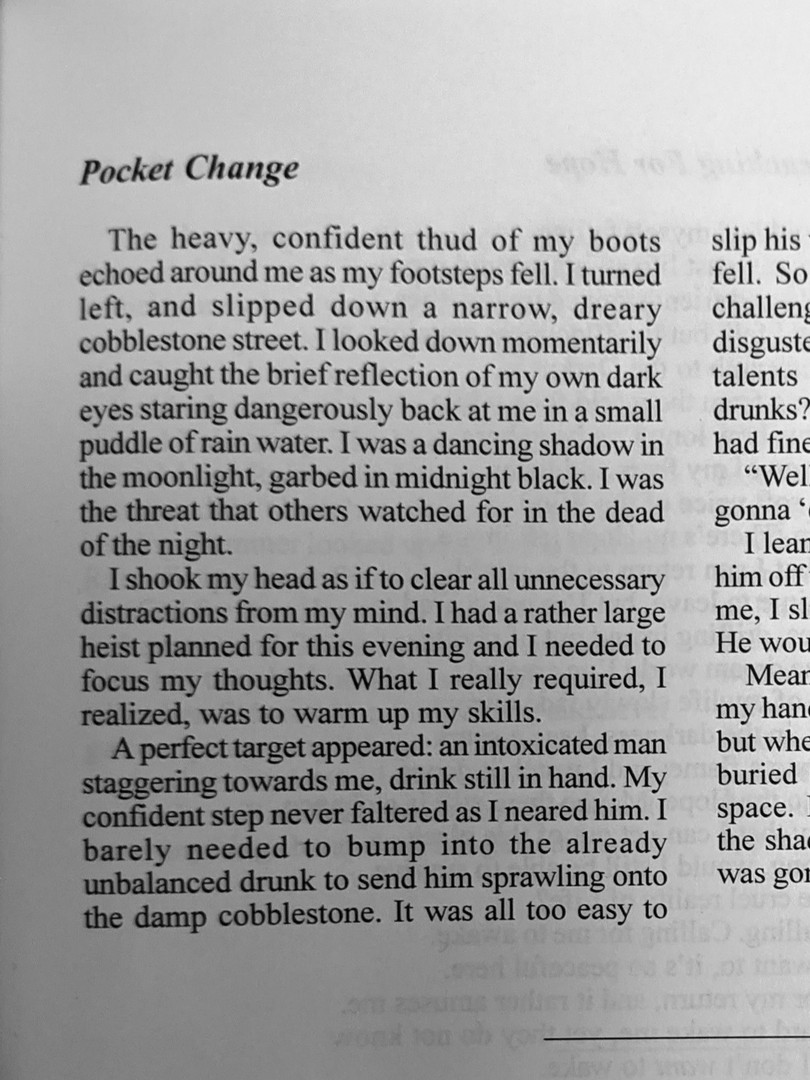 """Pocket Change"""