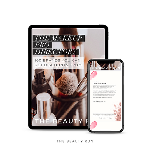 The Makeup Pro Directory: 100 Brands You Can Get Discounts From