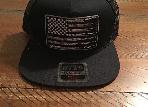 American Flag Bullet Hat
