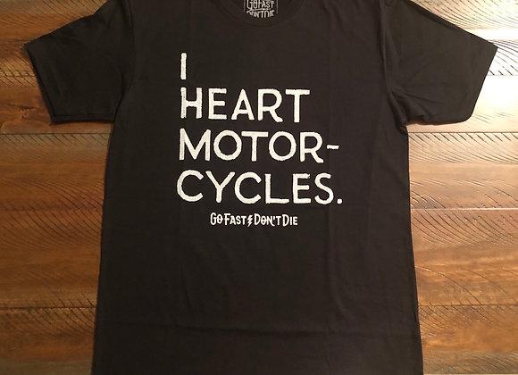 I Heart Motorcycles Tee