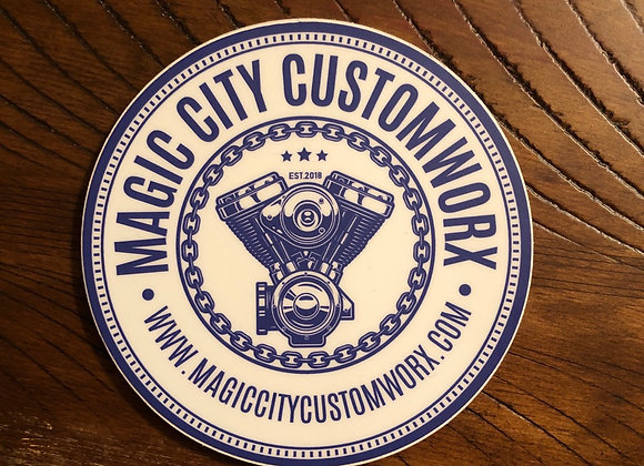 Magic City CustomWorx Sticker 3-pack