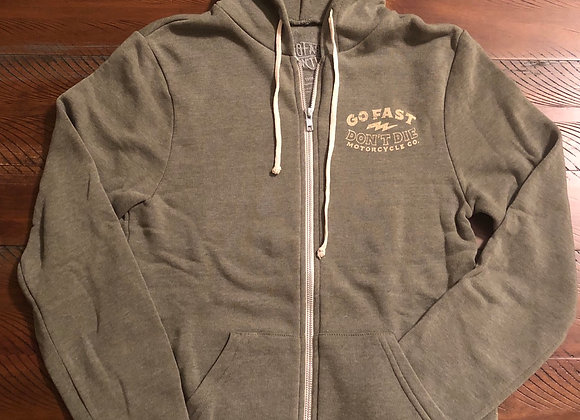 Free and Easy zip up hoodie