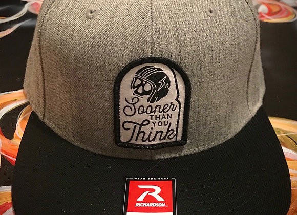 Sooner Than You Think Patch Hat