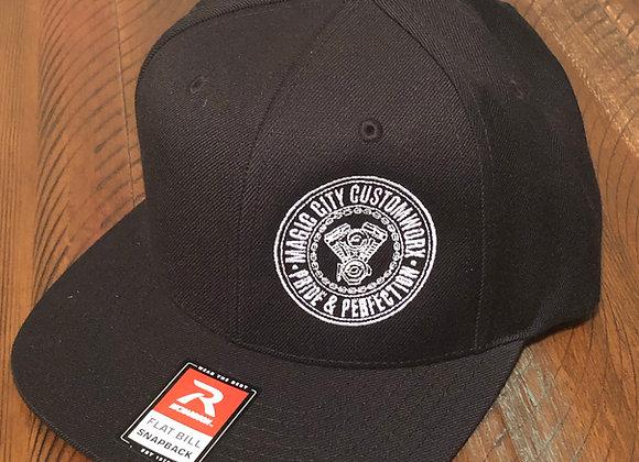 Black Flatbrim Snapback