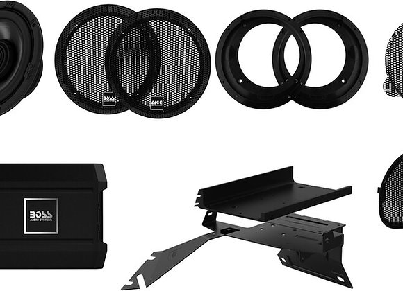 Boss Audio Front Speaker Kit Plug N Play '98 and up