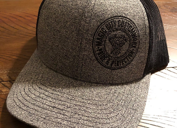 LoPro Snapback Hat Gray/Black