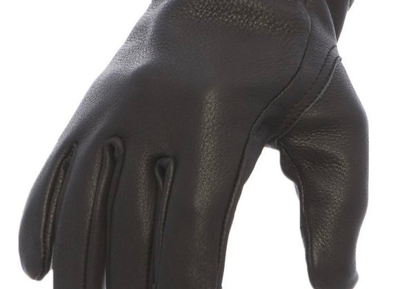 Roper Black Leather Gloves