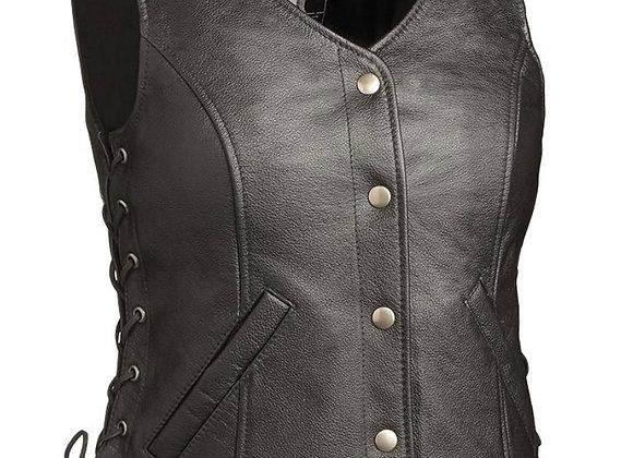 Honey Badger Leather Vest
