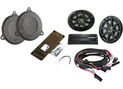 Kicker Plug and Play Audio Kit for '14-'21 FLH Models