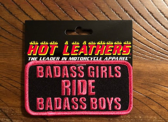 Badass Girls Patch