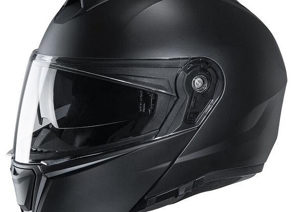 HJC i90 semi flat black