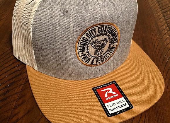 Tri Tone SnapBack Trucker Hat