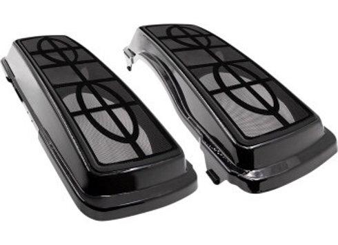 Dual 6x9 Saddlebag Lids