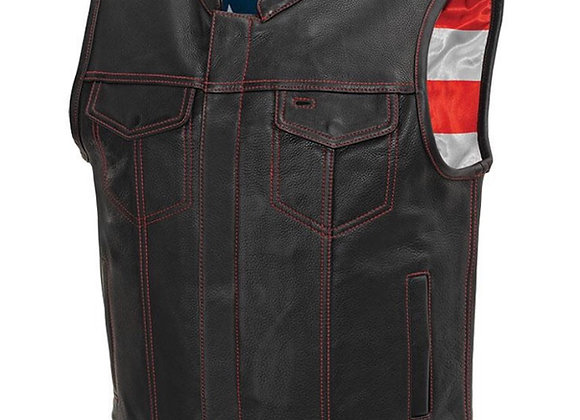 Born Free Leather Vest