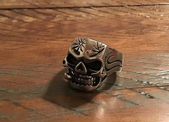 Skull Cigar Ring