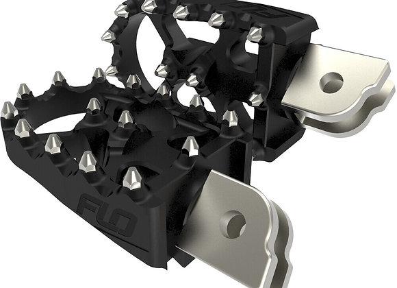 FLO Motorsports Moto Style Footpeg Set for M8 Softails