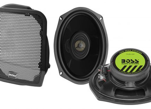 Boss Audio Rear Speaker Cut-In Kit '98-'13 Harley Touring Models