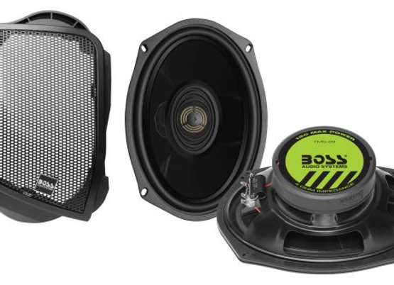 Boss Audio Rear Speaker Cut-In Kit '14 - Up Harley Touring Models