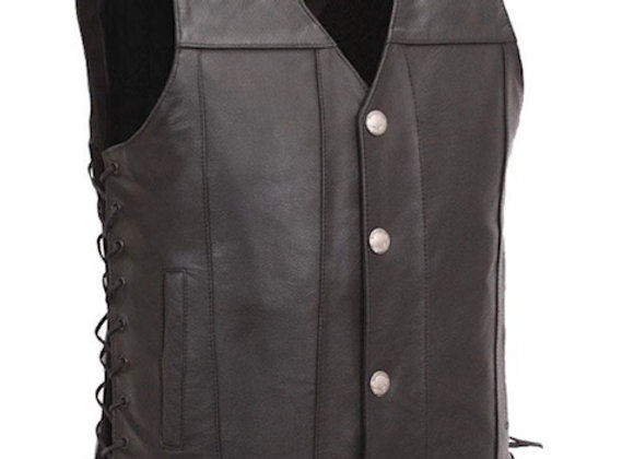 Gunslinger leather vest