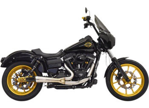 Bassani Ripper Short Road Rage 2into1 '06-'17 FXD