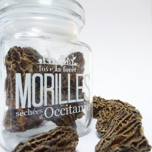 Morilles séchées 10g, deux formats