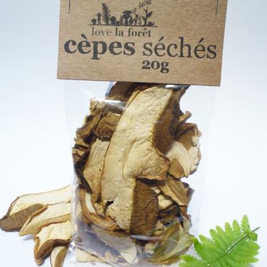 Dried ceps, small sachet, €5.90