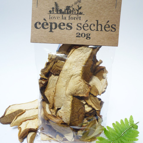 Cèpes séchés petit sachet 5,90€