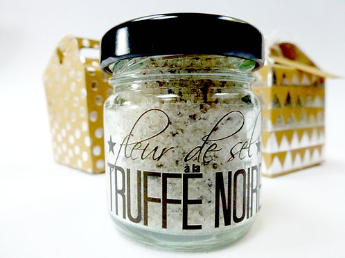 French black winter truffle salt
