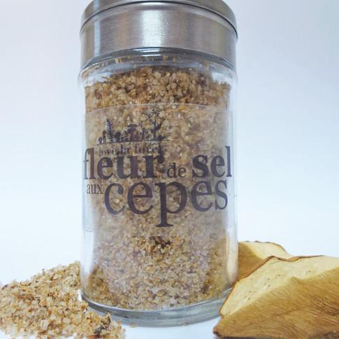 Fleur de sel aux cèpes 8,90€