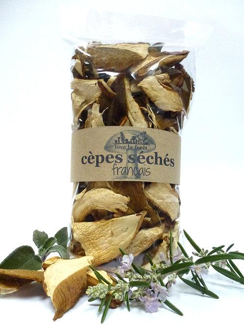 cèpes séchés français
