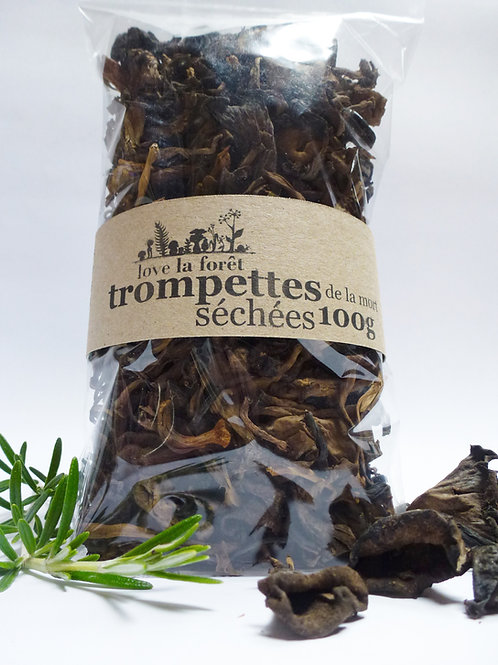 Dried black trumpets 100g
