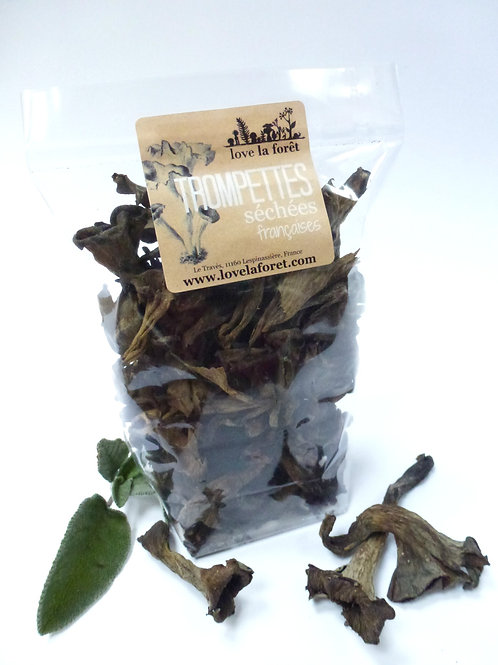 Dried black trumpets, 20g