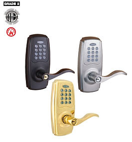 EL750 key pad lever
