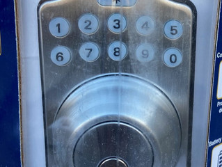Key Pad deadbolt with remote