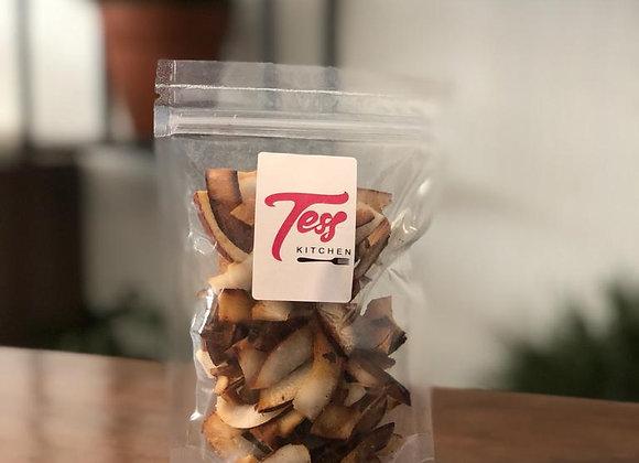 Chips de coco com xylitol 100g