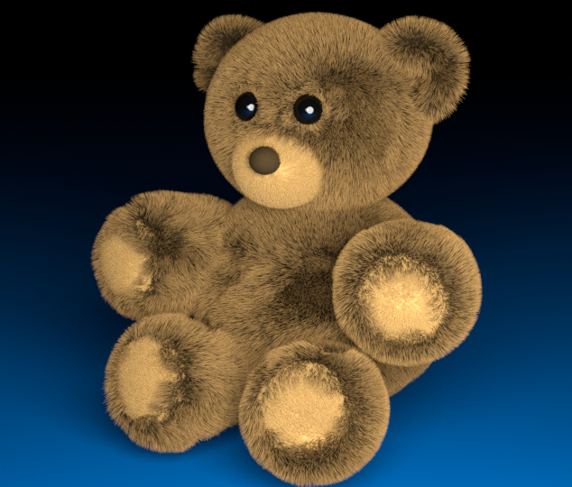 TEDDYBEAR made in blender