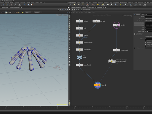 [Adv Pipeline Assignment 4 # Houdini Volume] Learning Note