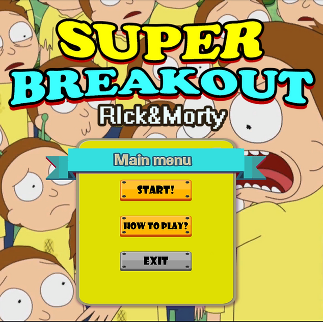 Rick and Morty Super Breakout