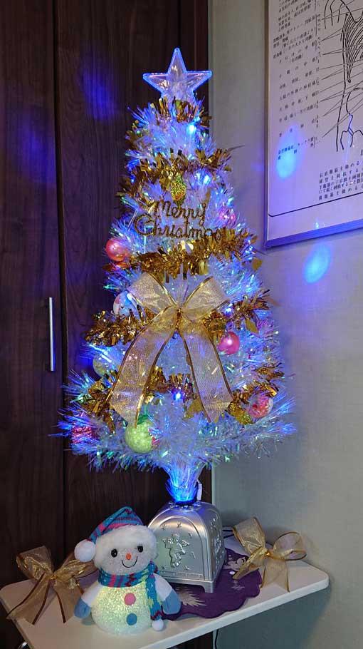 仙台の女性専門整体院ひろこの整体療術院のクリスマス