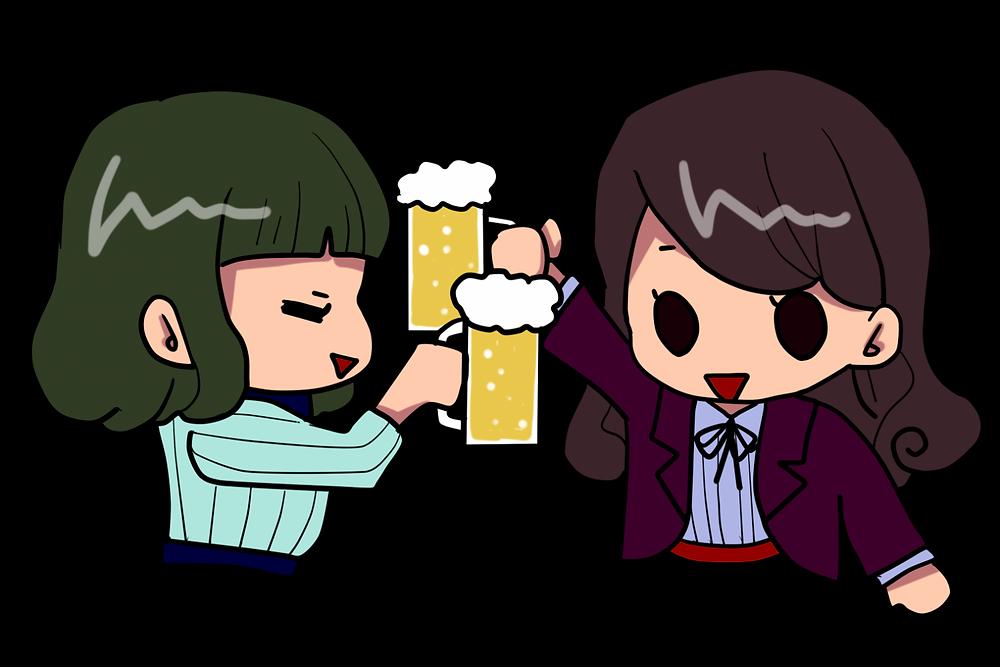 飲み会続いて疲れが取れなかったら宮城仙台の女性専門整体院