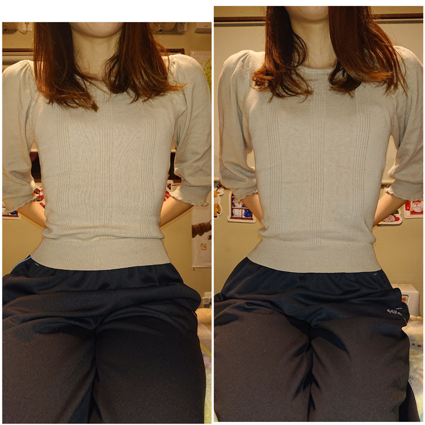 仙台の女性専門整体院のおすすめコース姿勢矯正の写真