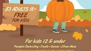 Pumpkin Walk Needs Peeps!